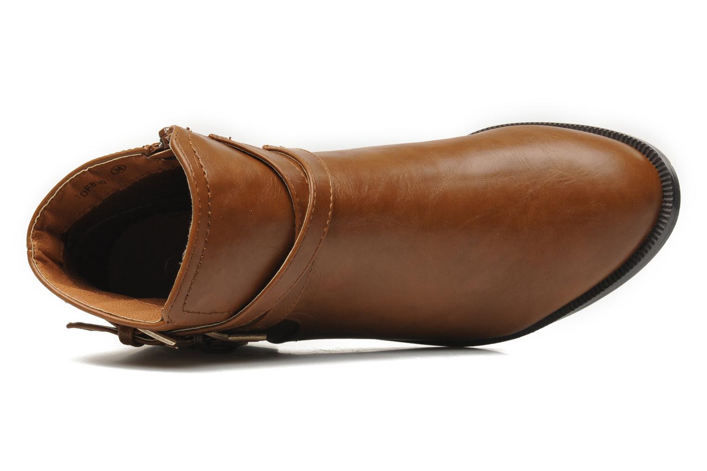 Stiefeletten & Boots Divine Factory D-cable braun ansicht von links