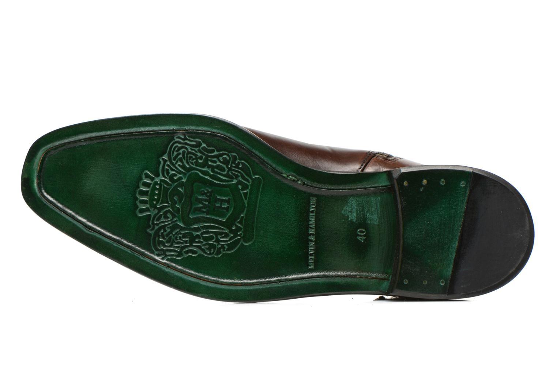 Bottines et boots Melvin & Hamilton Tom 6 Marron vue haut