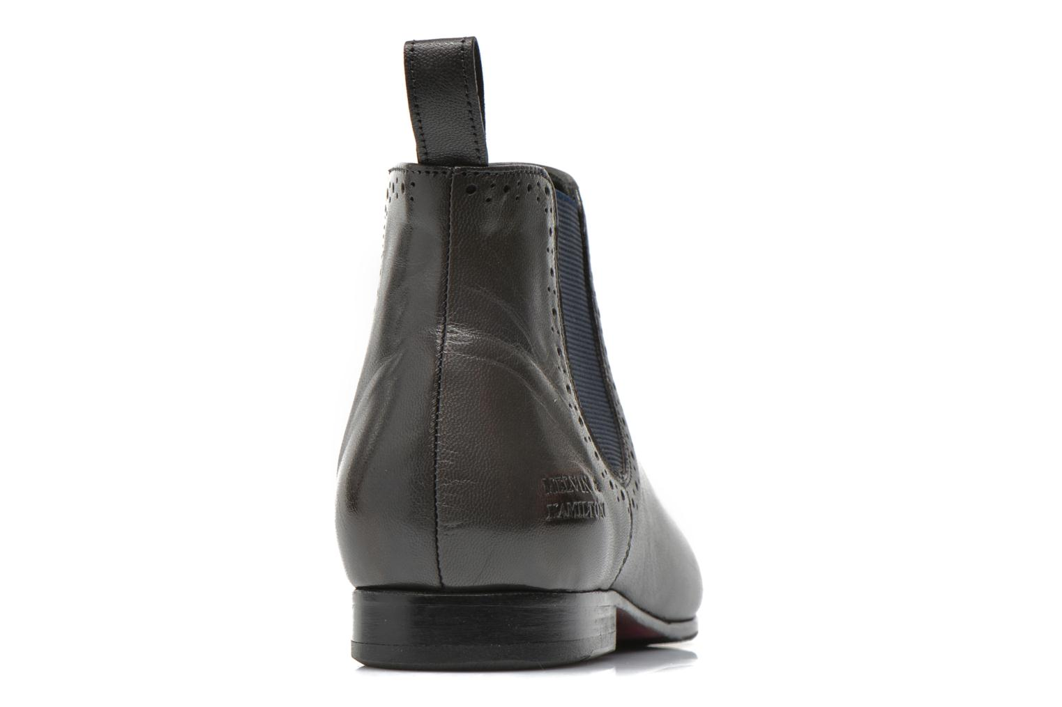 Ankle boots Melvin & Hamilton Sally 16 Blue view from the right