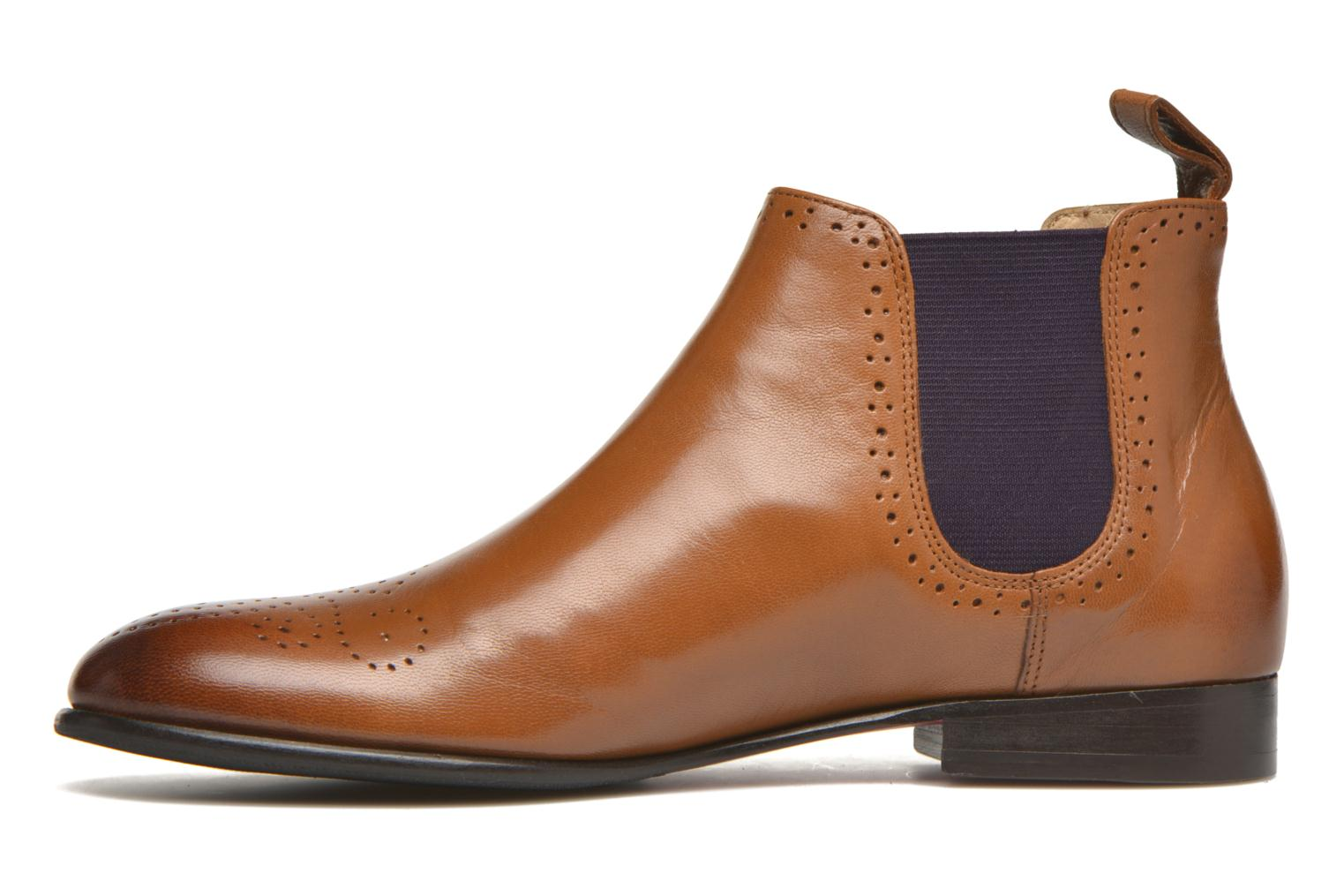 Ankle boots Melvin & Hamilton Sally 16 Brown front view