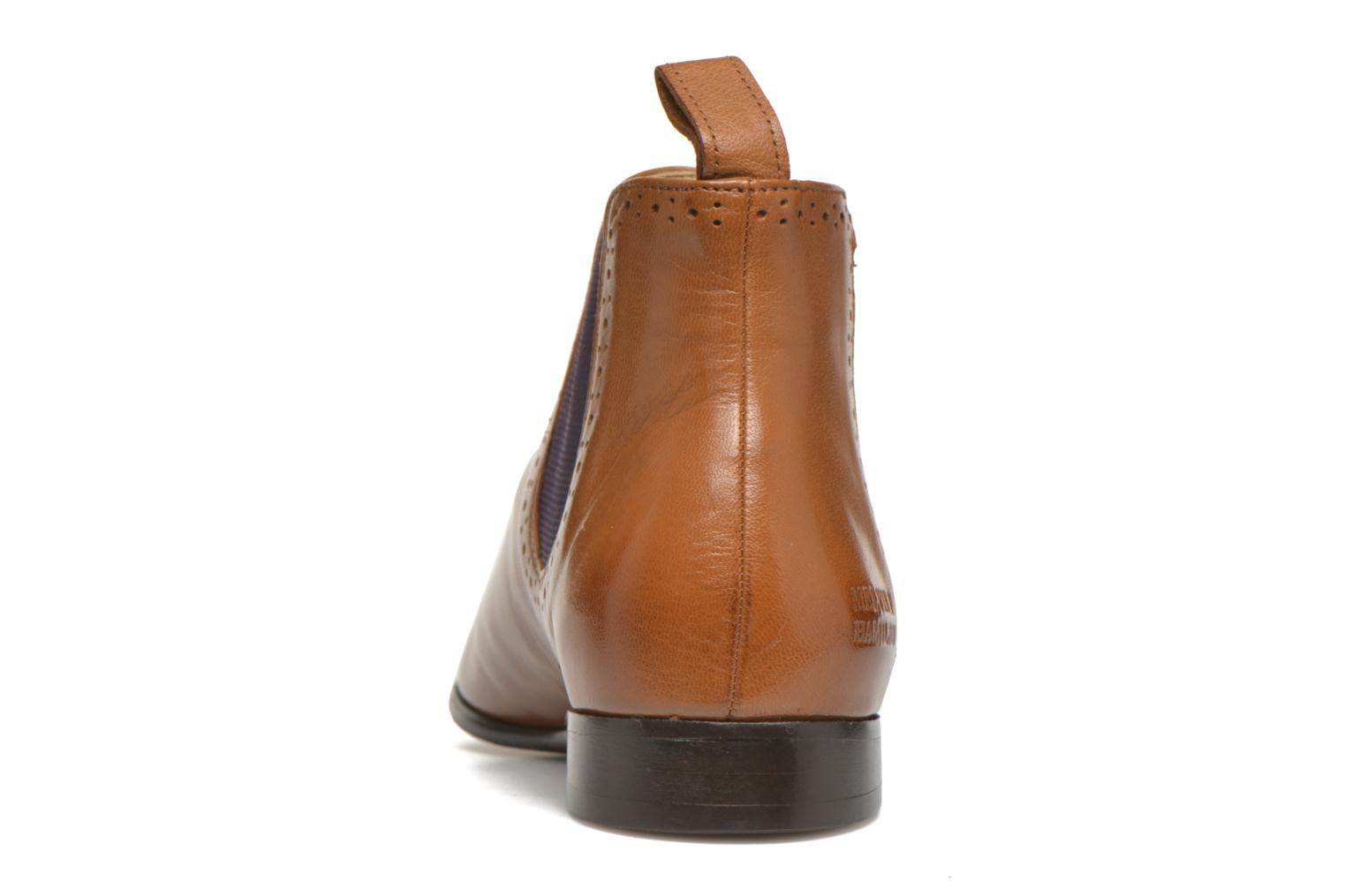 Ankle boots Melvin & Hamilton Sally 16 Brown view from the right