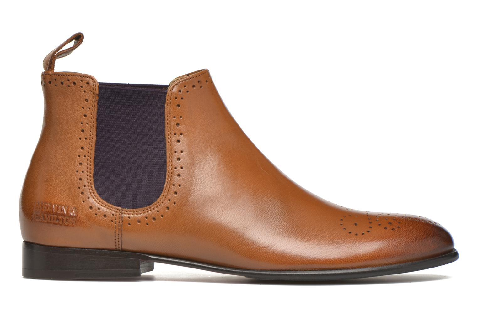 Ankle boots Melvin & Hamilton Sally 16 Brown back view