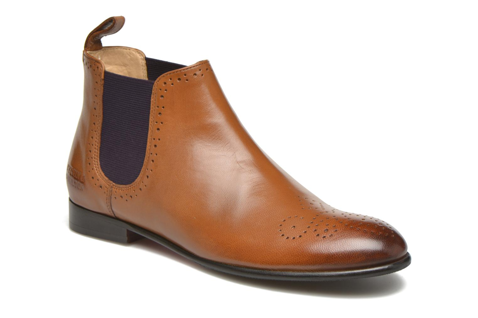 Ankle boots Melvin & Hamilton Sally 16 Brown detailed view/ Pair view