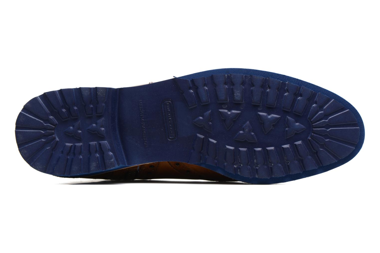 Amelie 11 Crust Sand Strap Orange Rook D Blue