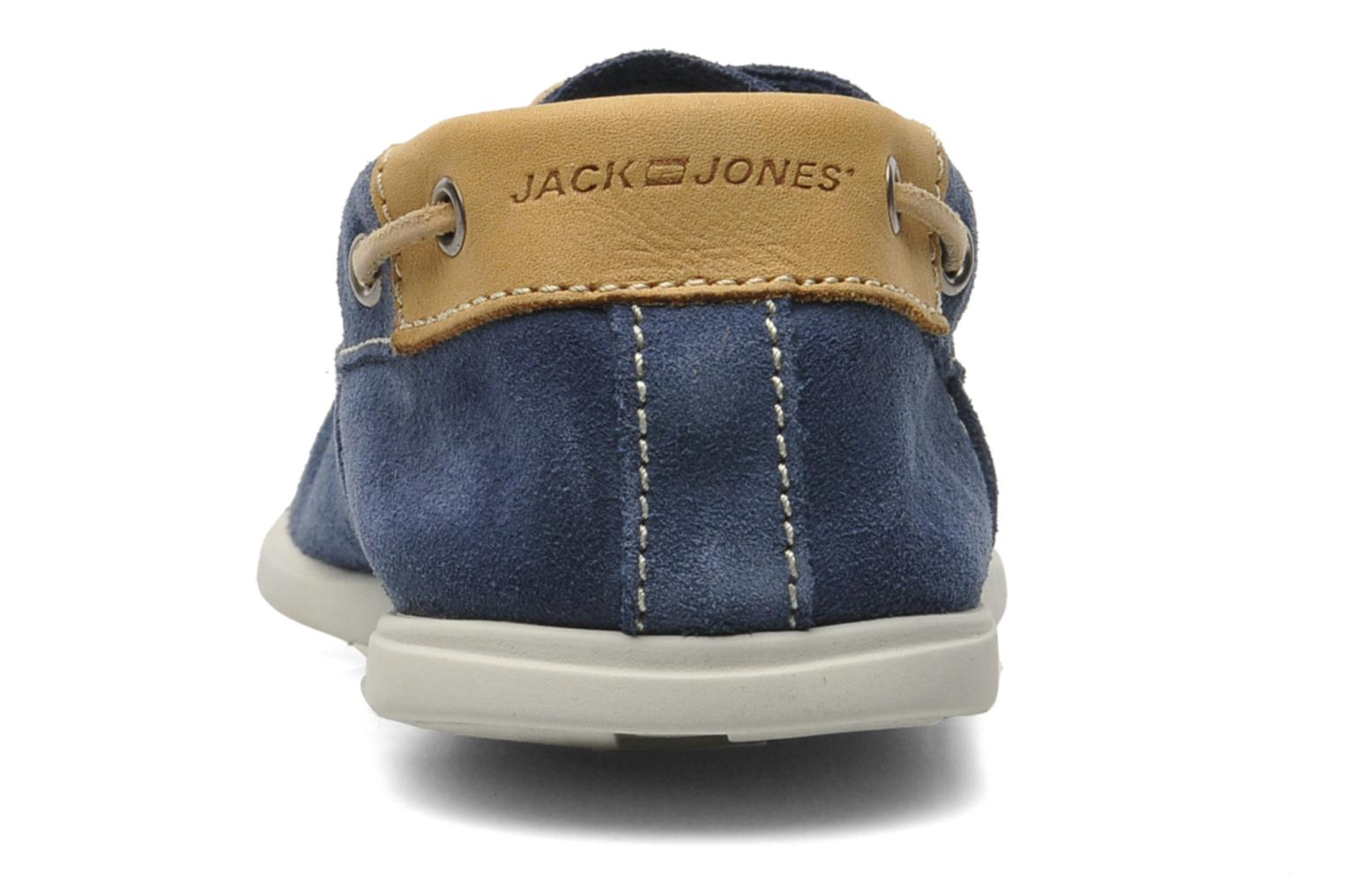 Veterschoenen Jack & Jones JJ James Suede Blauw rechts