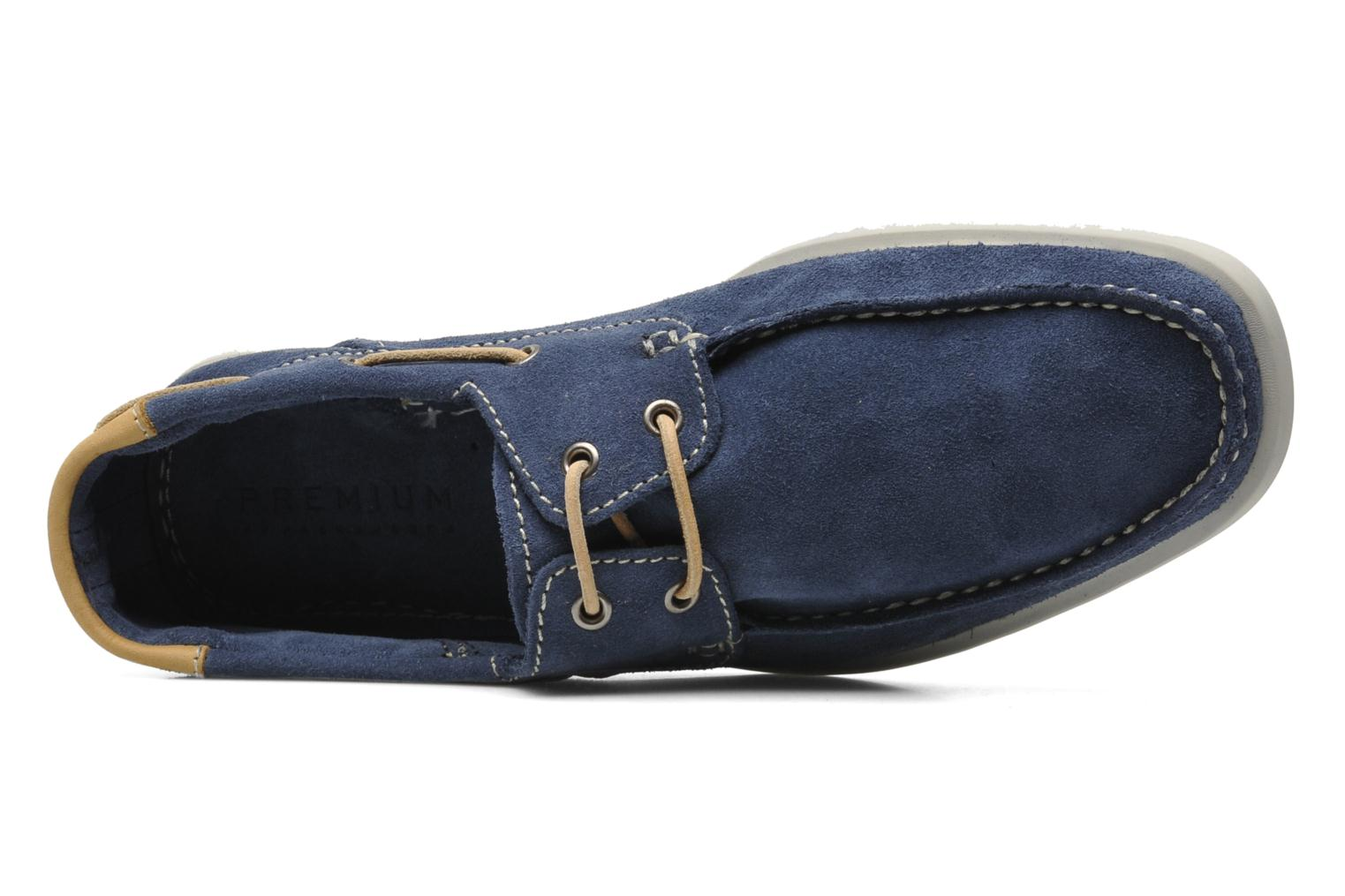 JJ James Suede Indigo