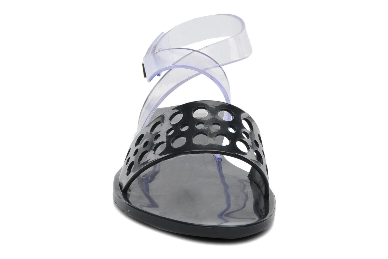 Sandales et nu-pieds Melissa Melissa Tasty Sp Ad Noir vue portées chaussures