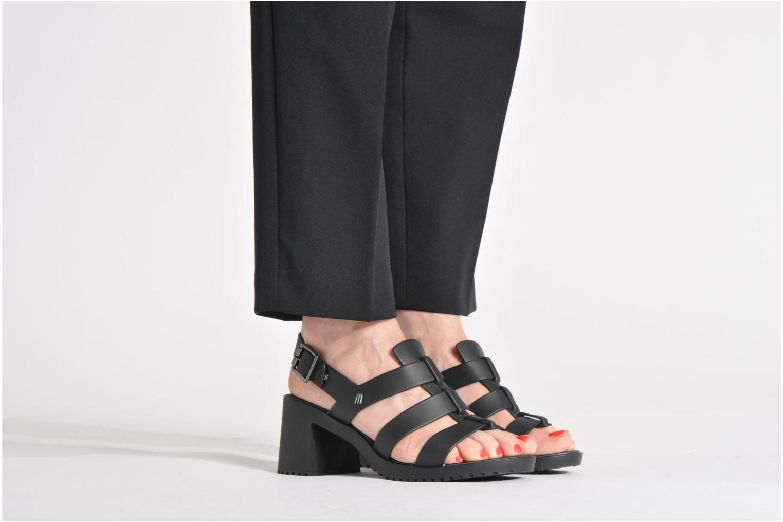 Sandalen Melissa Melissa Flox High Sp Ad schwarz ansicht von unten / tasche getragen