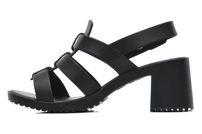 Sandalen Melissa Melissa Flox High Sp Ad schwarz ansicht von vorne