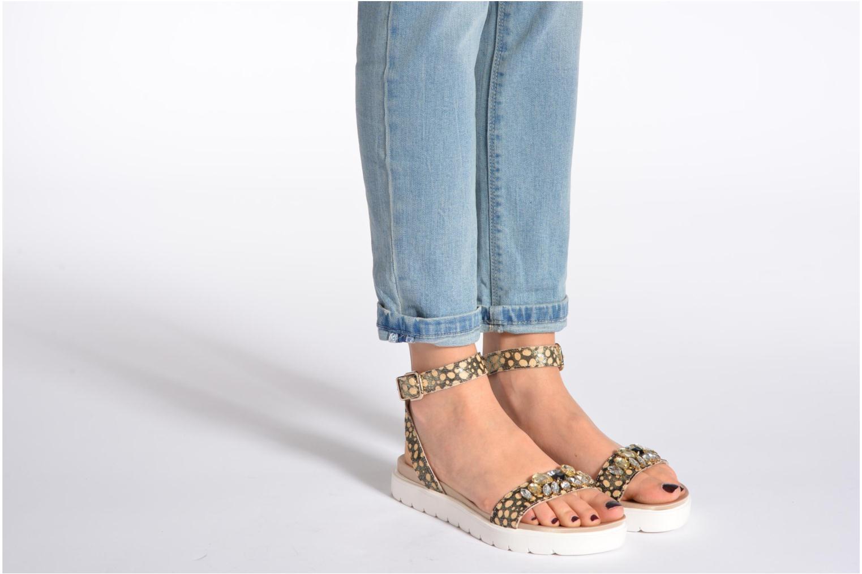 Sandales et nu-pieds Liu Jo Sandale Fussbett Nicole Multicolore vue bas / vue portée sac