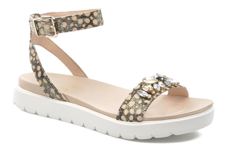 Sandales et nu-pieds Liu Jo Sandale Fussbett Nicole Multicolore vue détail/paire