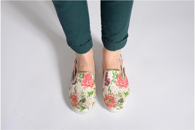White cotton Liu Jo Slip on Jackie (Multicolore)
