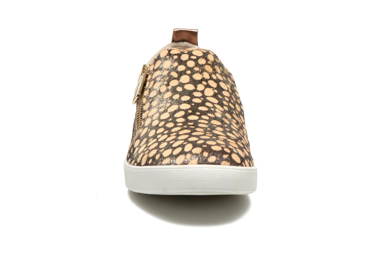 Baskets Liu Jo Slip on Nico Or et bronze vue portées chaussures