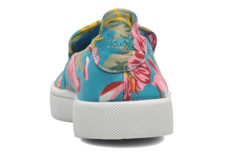 Sneaker Blowfish Vasa mehrfarbig ansicht von rechts