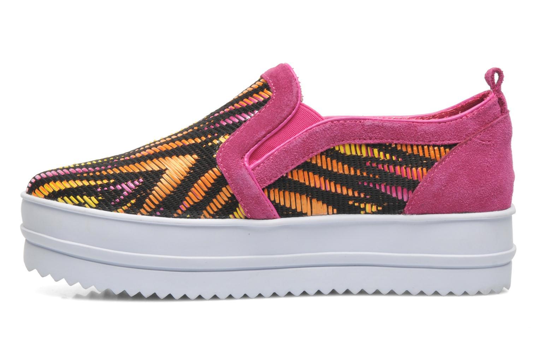 Sneaker Colors of California Bloom rosa ansicht von vorne