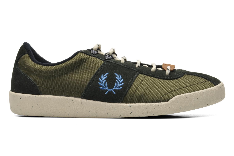 Sneaker Fred Perry Stockport cordura suede grün ansicht von hinten