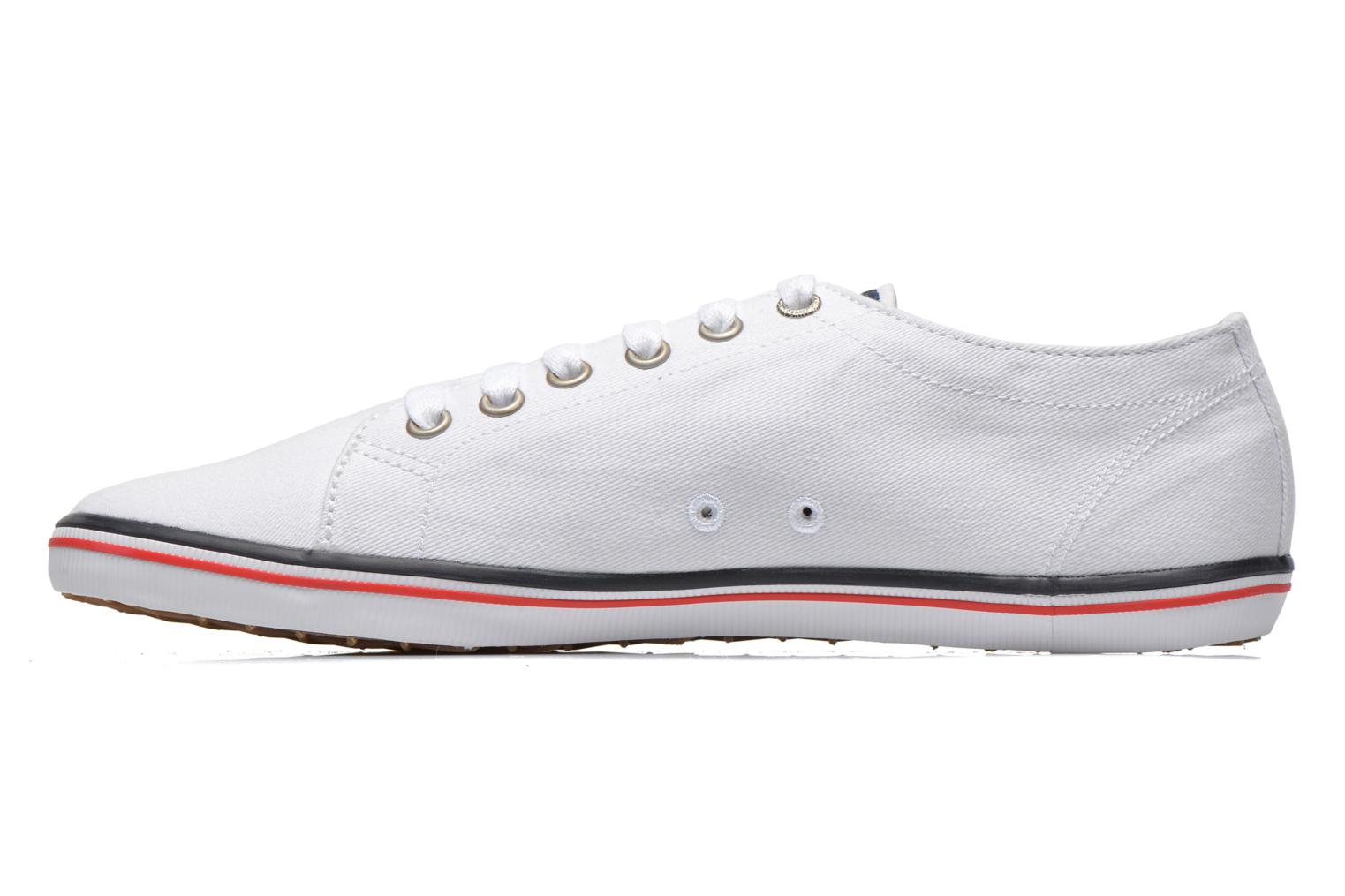Sneakers Fred Perry Kingston Twill Wit voorkant