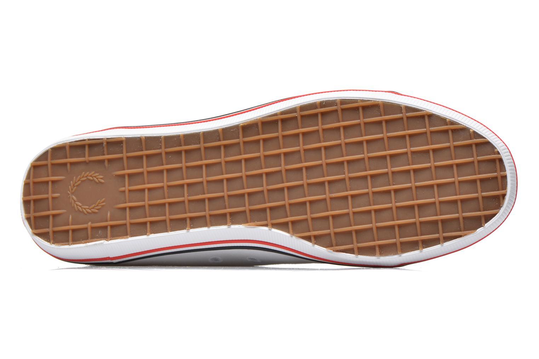 Sneaker Fred Perry Kingston Twill weiß ansicht von oben