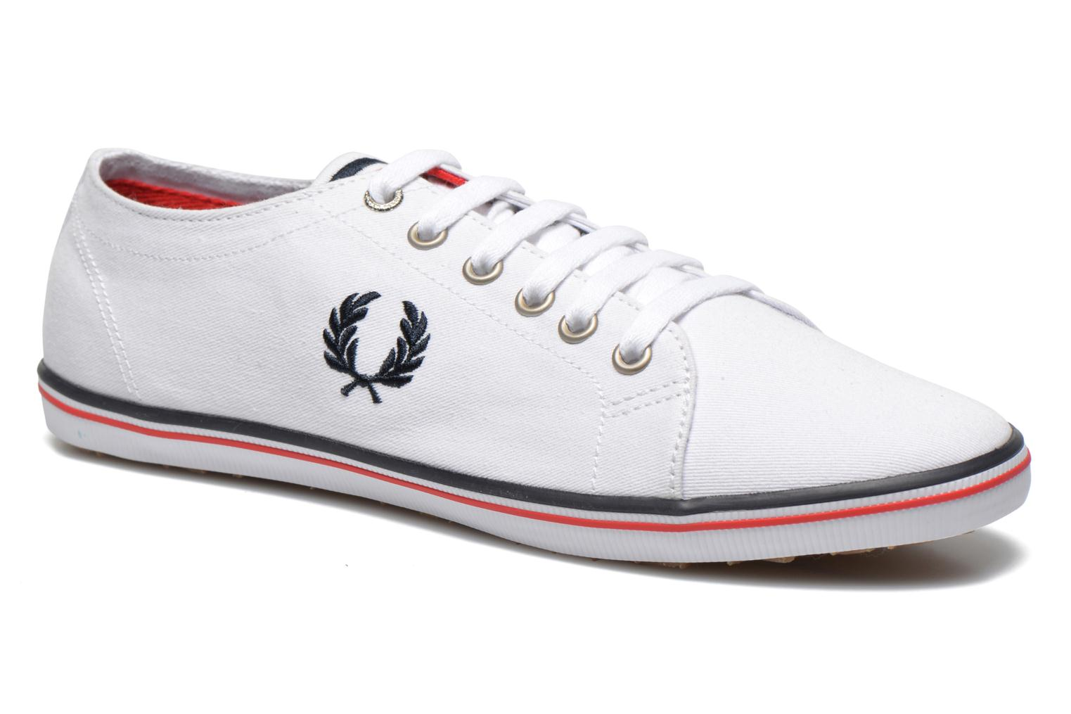 Navy Red Fred Perry Kingston Twill (Bleu)
