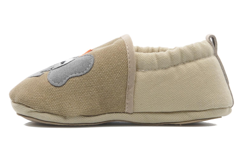 Pantoffels Giesswein Bärenthal Beige voorkant