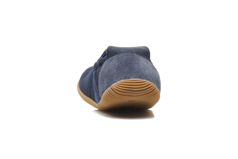 Pantofole Giesswein Söll Slim Fit Azzurro immagine destra