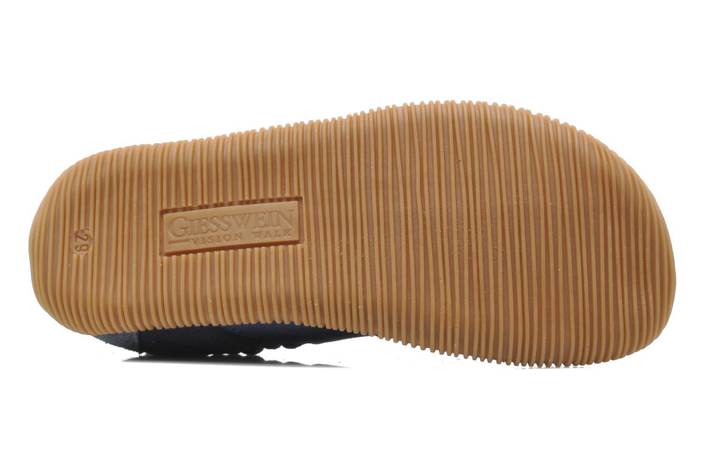 Pantofole Giesswein Söll Slim Fit Azzurro immagine dall'alto