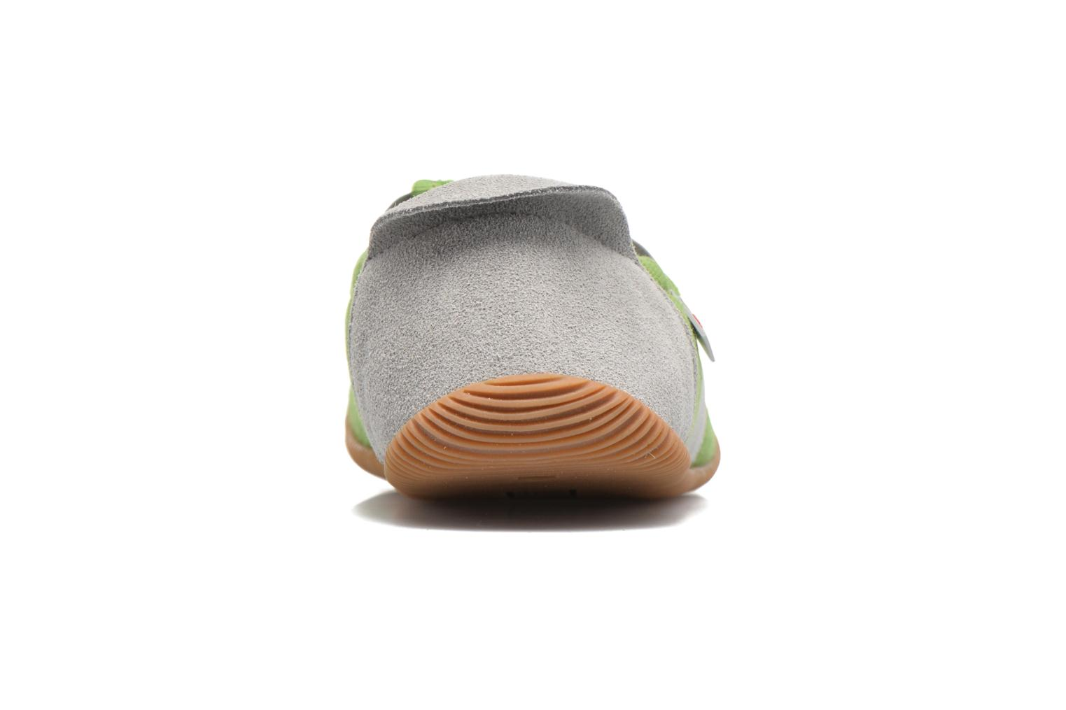 Slippers Giesswein Söll Slim Fit Green view from the right