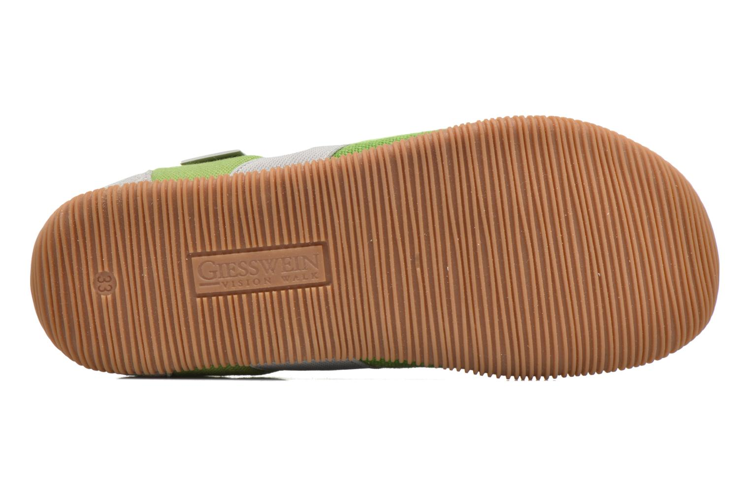 Slippers Giesswein Söll Slim Fit Green view from above