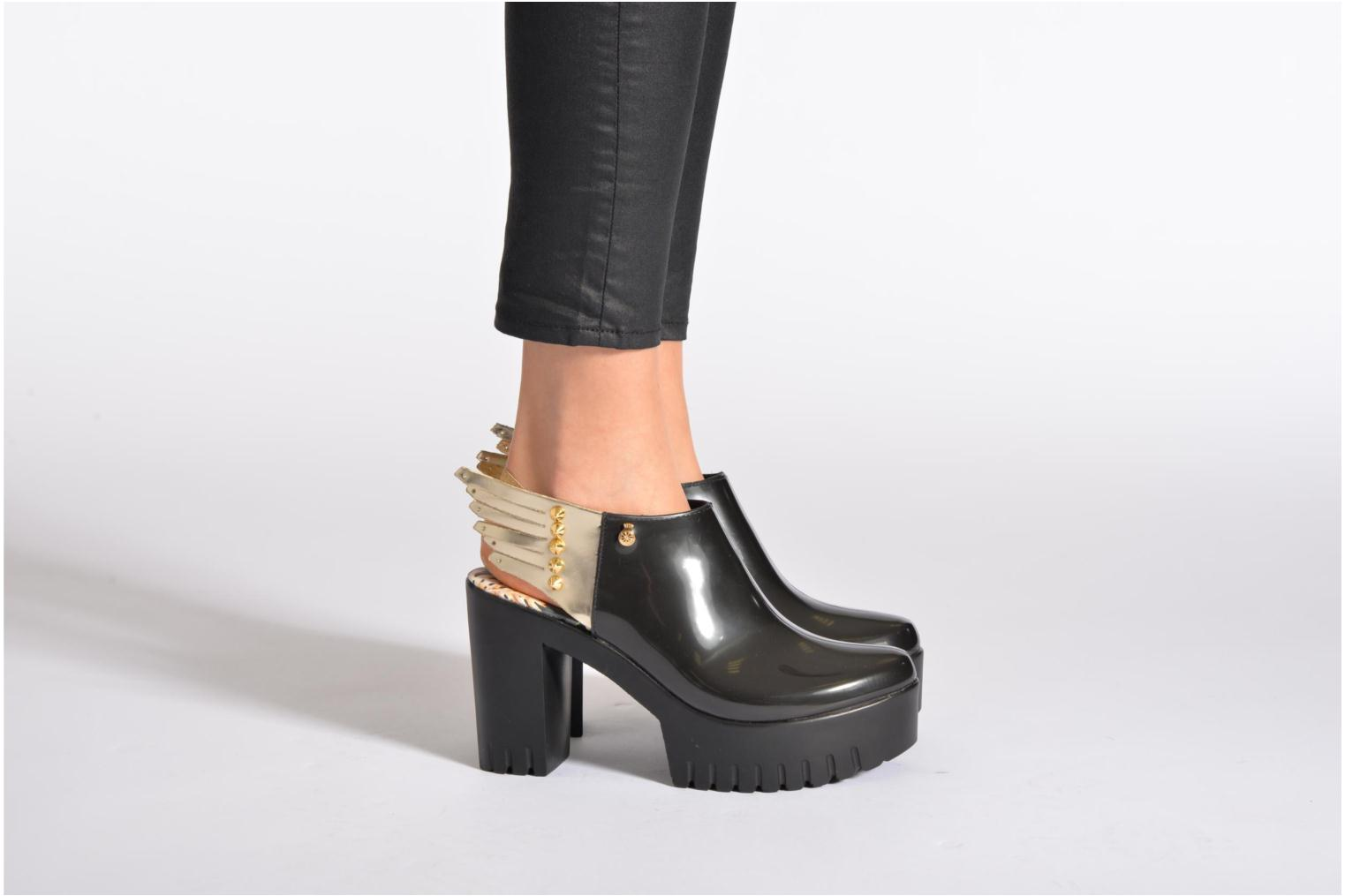 Ankle boots Lemon Jelly Triniti Black view from underneath / model view
