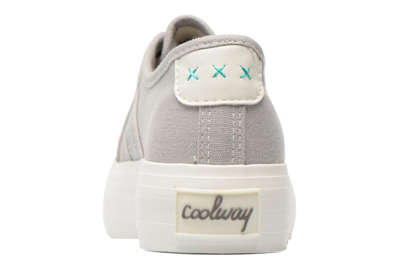 Sneaker Coolway Daniela grau ansicht von rechts