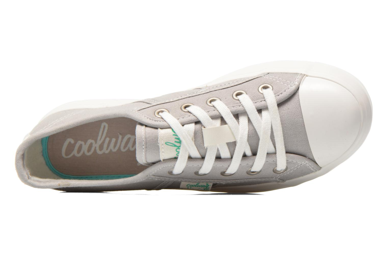 Trainers Coolway Daniela Grey view from the left