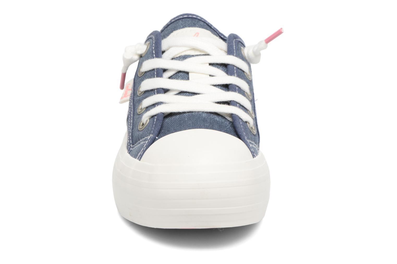 Baskets Coolway Daniela Bleu vue portées chaussures