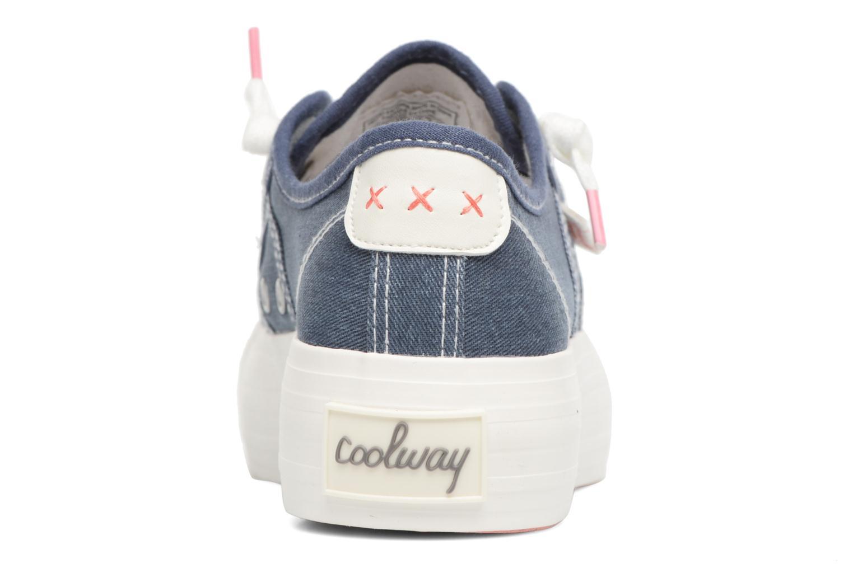 Sneakers Coolway Daniela Blauw rechts