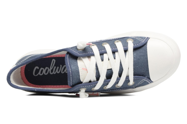 Sneakers Coolway Daniela Blauw links