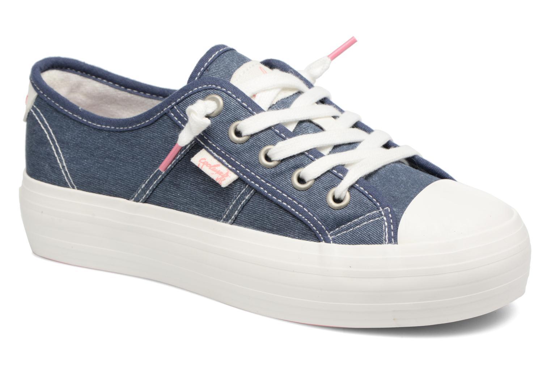 Sneakers Coolway Daniela Blauw detail