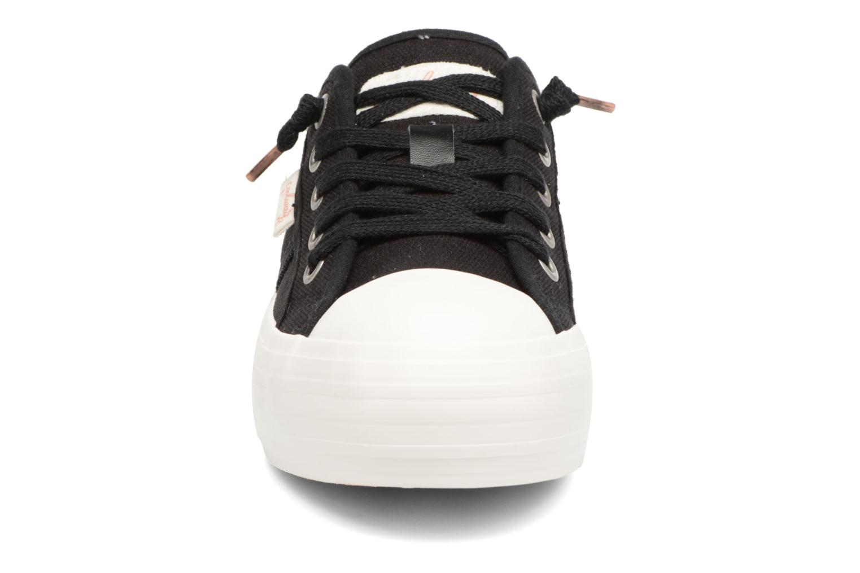 Baskets Coolway Daniela Noir vue portées chaussures