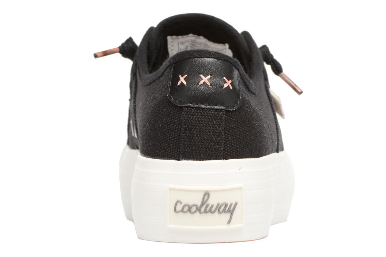 Sneaker Coolway Daniela schwarz ansicht von rechts