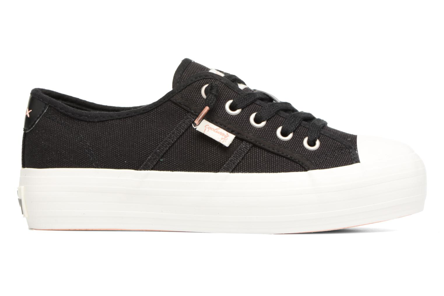 Sneakers Coolway Daniela Sort se bagfra