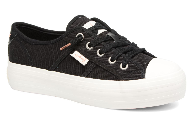 Zapatos de hombres y mujeres de moda casual Coolway Daniela (Negro) - Deportivas en Más cómodo