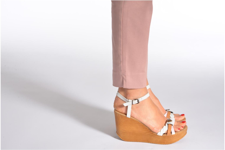 Sandalen Coolway Gissi mehrfarbig ansicht von unten / tasche getragen