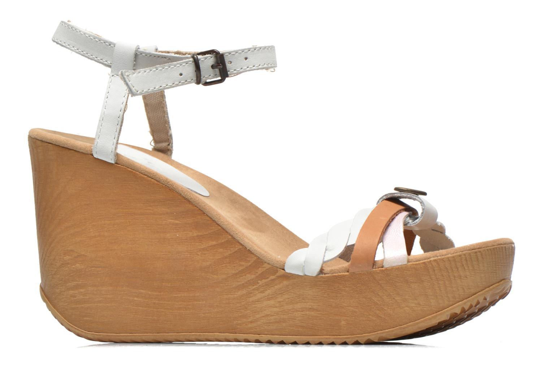 Sandales et nu-pieds Coolway Gissi Multicolore vue derrière