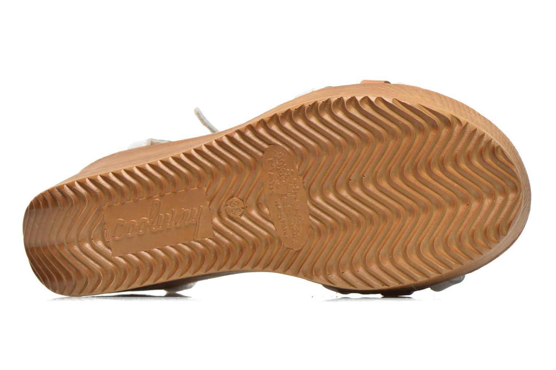 Sandalen Coolway Gissi mehrfarbig ansicht von oben