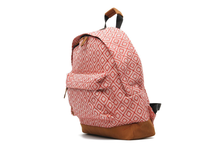 Premium peruvian Backpack Diamonds red