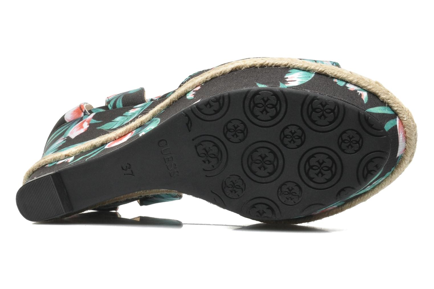 Sandals Guess Odin Multicolor view from above