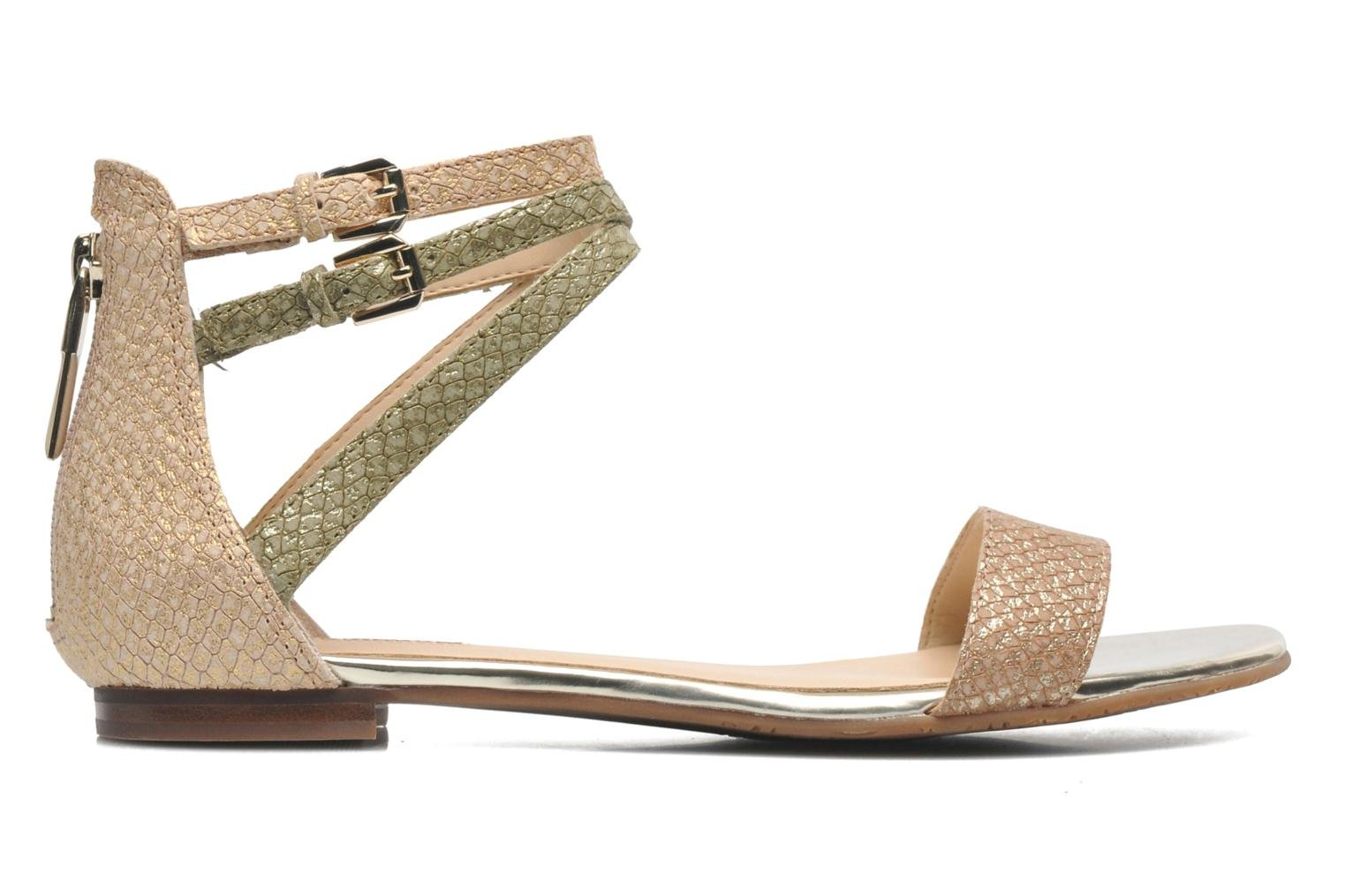 Sandals Guess Jill Bronze and Gold back view