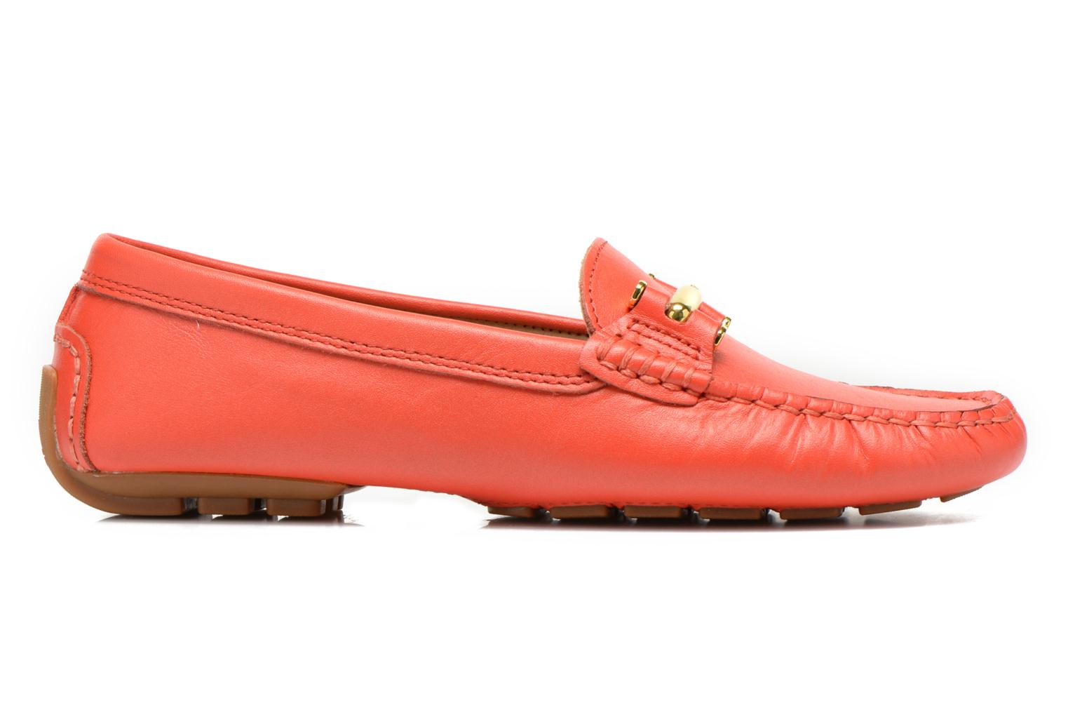Loafers Lauren by Ralph Lauren Caliana Red back view