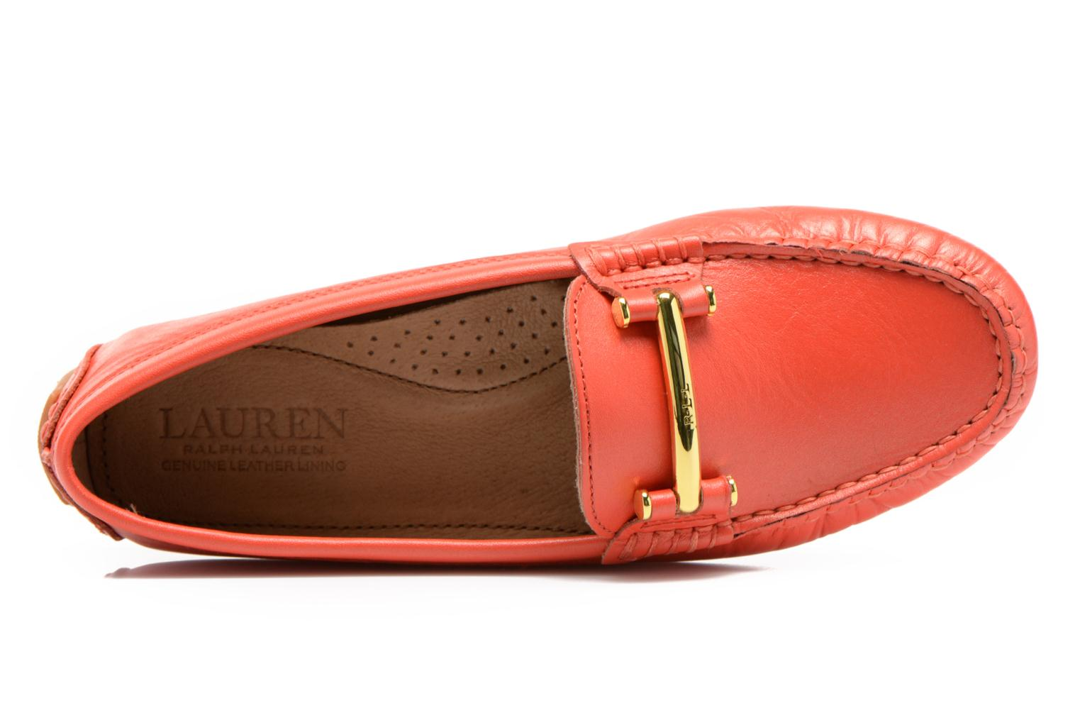 Loafers Lauren by Ralph Lauren Caliana Red view from the left