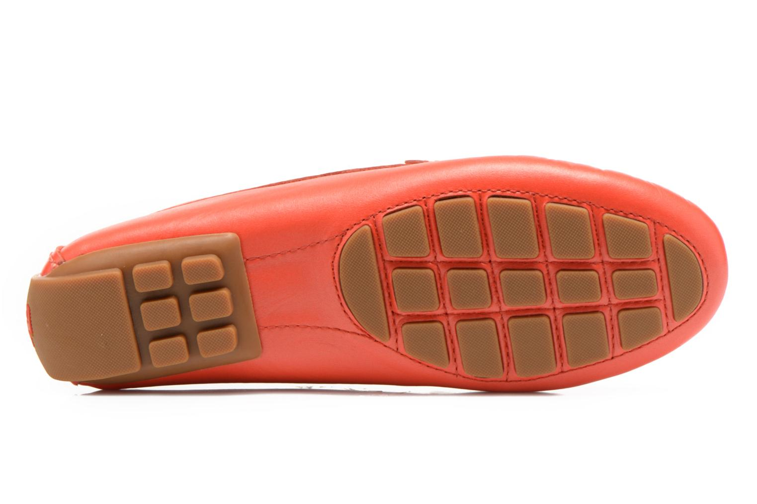 Loafers Lauren by Ralph Lauren Caliana Red view from above