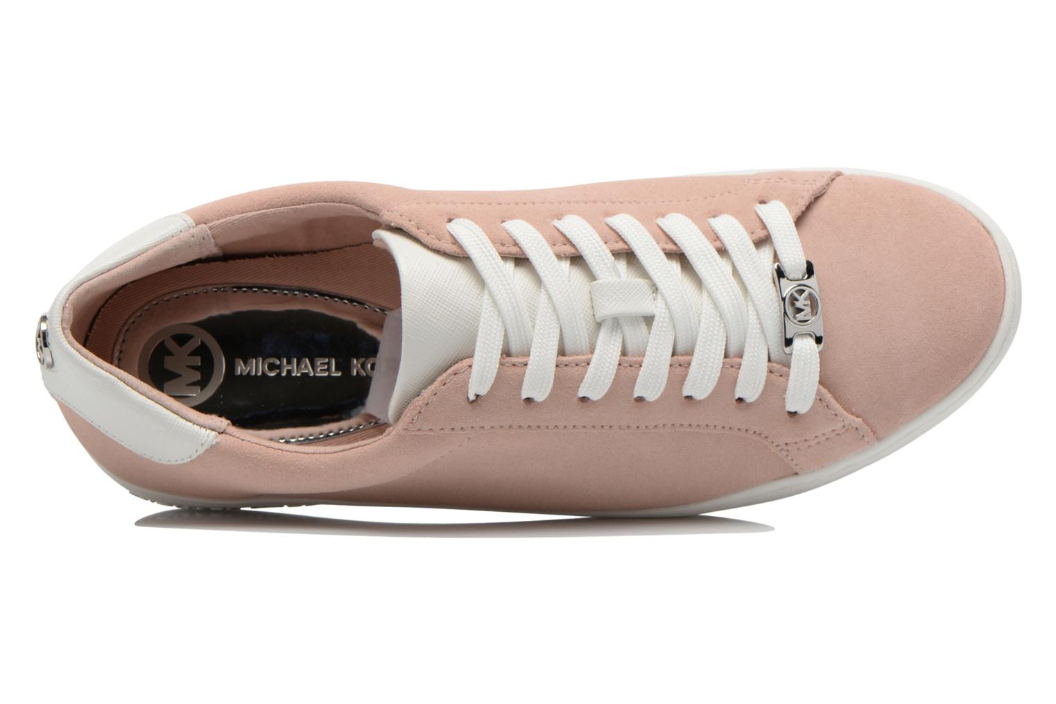 Sneaker Michael Michael Kors Irving Lace Up rosa ansicht von links