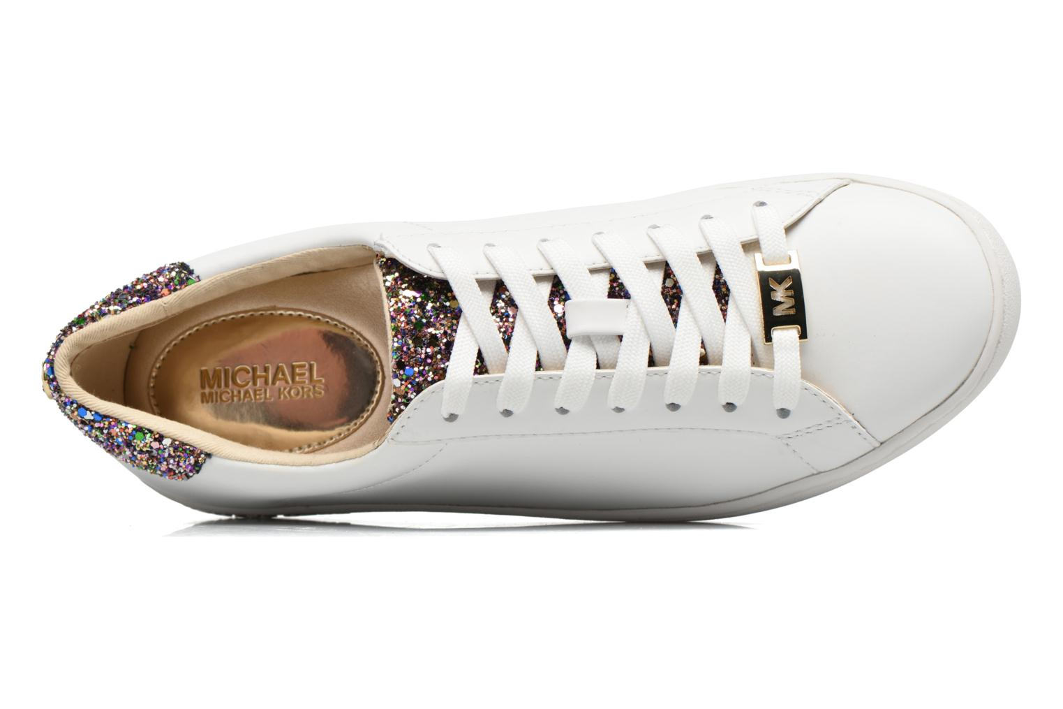 Baskets Michael Michael Kors Irving Lace Up Blanc vue gauche